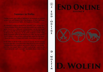 Volume 4 Cover 1 Embossed